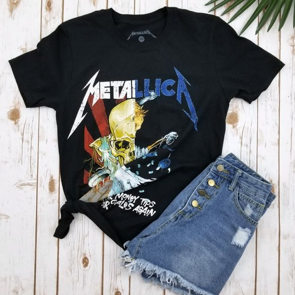Metallica Rare Doris Split Graphic T-Shirt Unisex